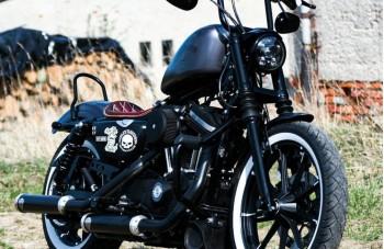 Harley Davidson Sportster Bobber Sitz
