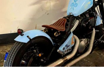Harley Davidson custom selle