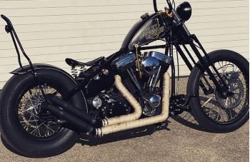 Harley Davidson Bobber Selle