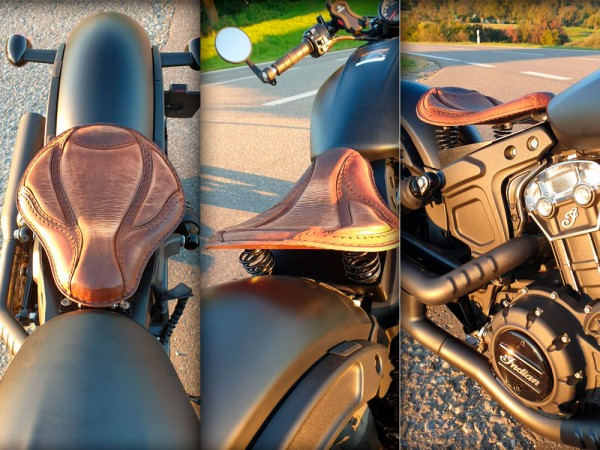 Motorradsitz EL TORO