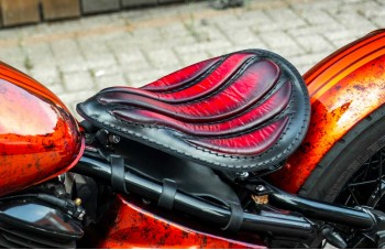 Alex Leather Craft - Seat for your motorcycle