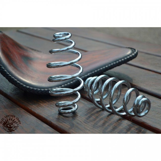 "Bobber Seat springs 5"" (130 mm) Custom Chrome"