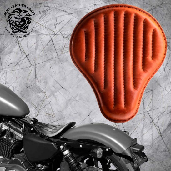 Solo Selle Harley Davidson Sportster 04-20 Cognac V2