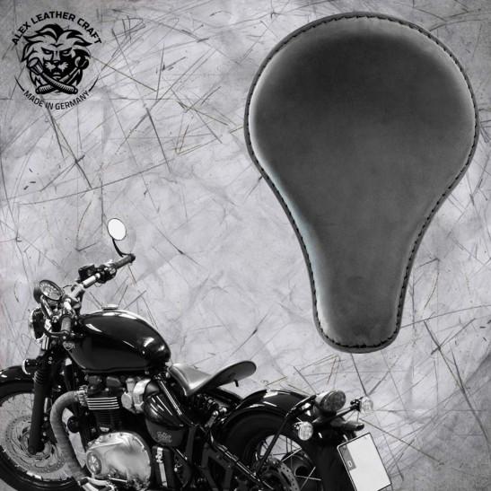 """Triumph Bonneville Bobber Seat since 2016 """"Long"""" Velour"""