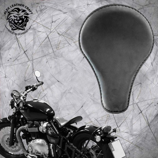 "Triumph Bonneville Bobber Selle de 2016 ""Long"" Velour"