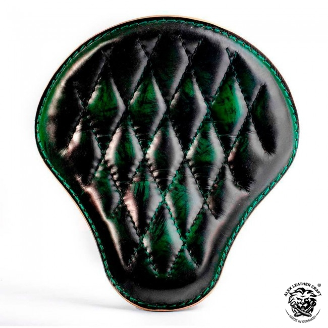 Bobber & Chopper Custom Seat Emerald Diamond