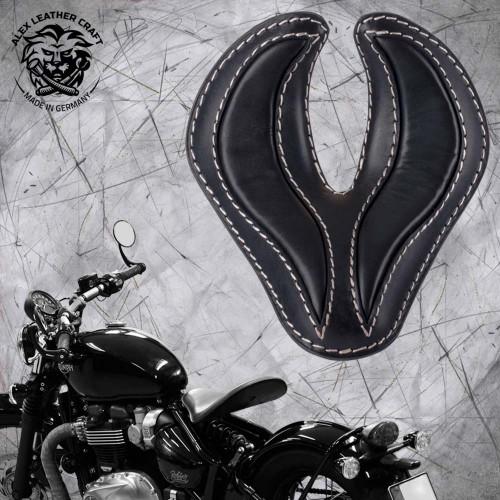 "Triumph Bonneville Bobber Sitz ab 2016 ""King Cobra"" Schwarz"