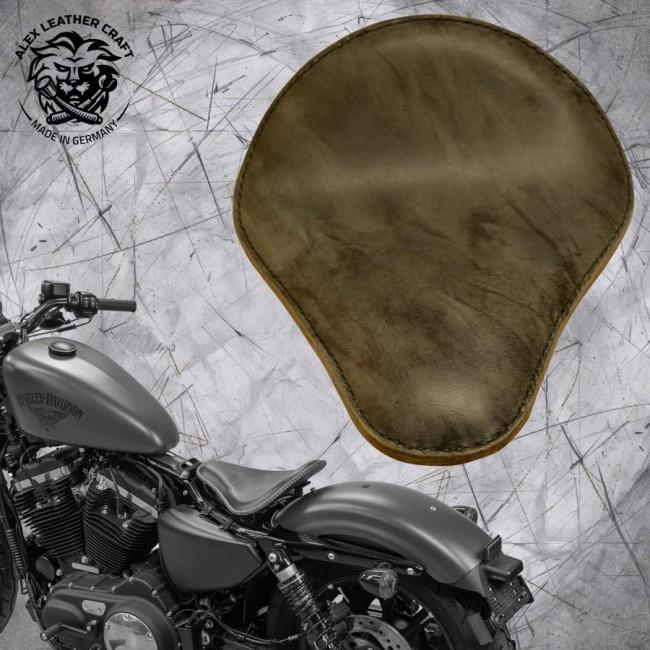 Seat + Montage Kit Harley Davidson Sportster 04-20 Buffalo Gray