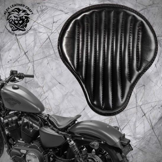 Seat + Montage Kit Harley Davidson Sportster 04-20 Black V2