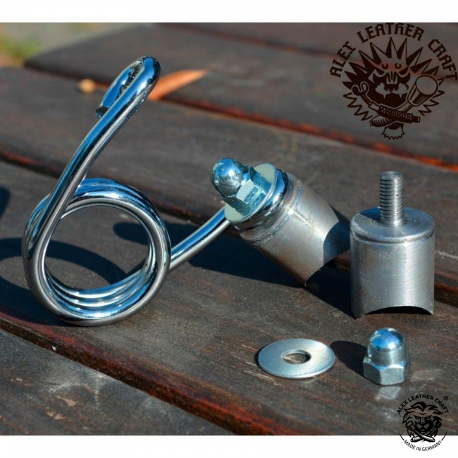Mounting device 1,5 inch (3,81 cm) for Bobber Selle Custom Harley Chopper Mounting Piston