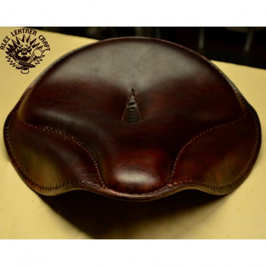 "Bobber & Chopper Custom Seat ""Old time"" Dark brown"