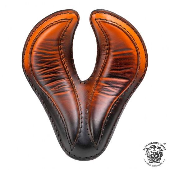 """Bobber & Chopper Custom Selle """"King Cobra"""" Saddle Tan"""