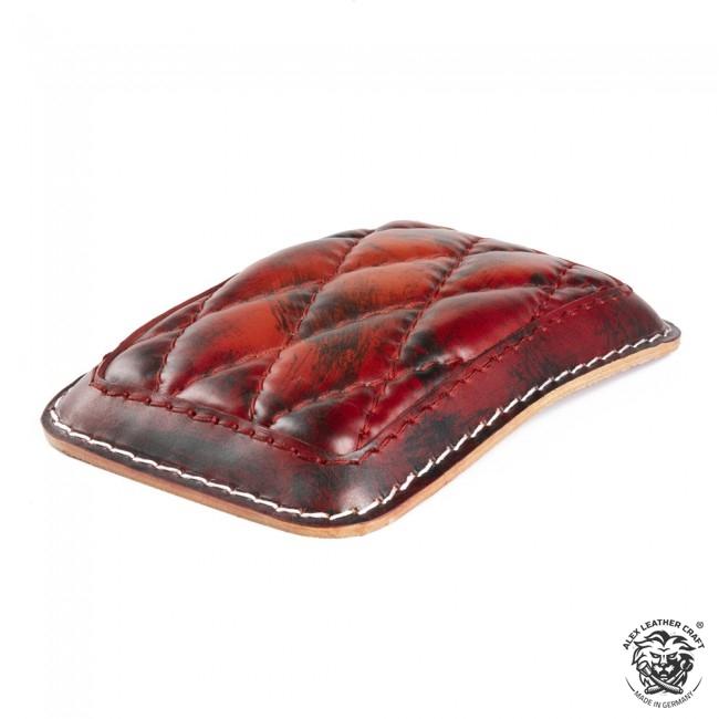 Luxus sozius sitzpad Rot und Schwarz Rautenmuster