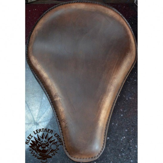 Bobber Solo Seat Long Vintage Сhocolate