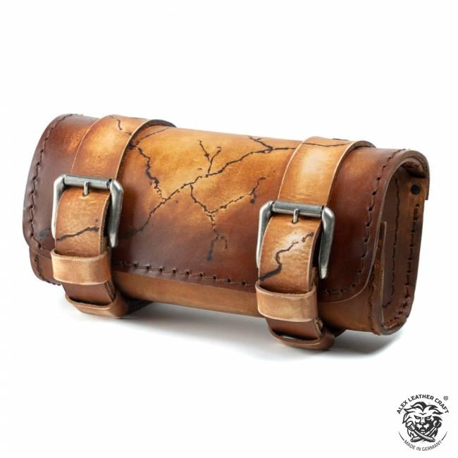 Motorcycle tool bag Electro Vintage Brown