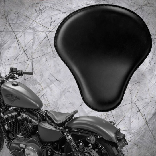 Bobber Seat + Montage Kit Sportster 48 Forty Eight  04-06 and 2010