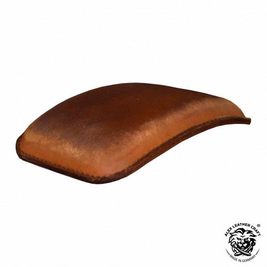 Pillion Seats Pads Vintage Brown Harley Bobber Custom Universal