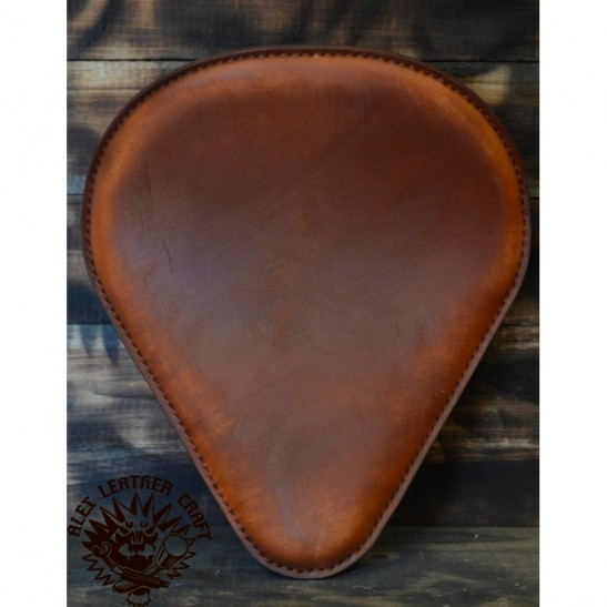 "Bobber Seat ""Drop'' Vintage Brown"