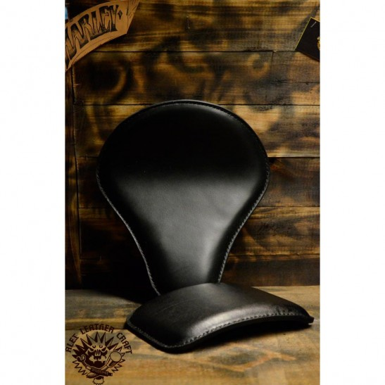 Bobber Seat + Pillion Seats/pads Black