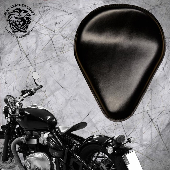 Triumph Bonneville Bobber Seat since 2016 ''Drop'' Black