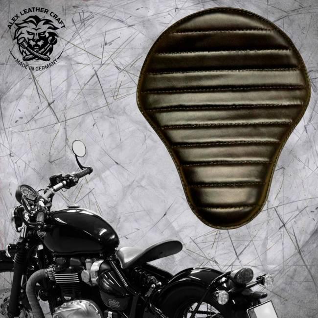 "Triumph Bonneville Bobber Seat since 2016 ""Standard"" Black V1"