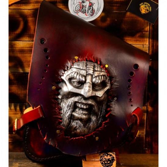 """Sacoche de moto pour Harley Davidson Softail """"Viking"""""""
