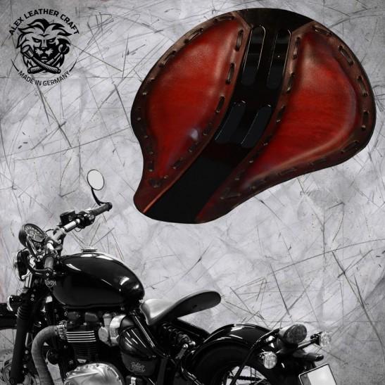 "Triumph Bonneville Bobber Seat since 2016 ""Standard"" 4Fourth Red"