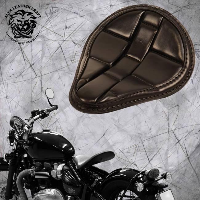 """Triumph Bonneville Bobber Seat since 2016 """"Standard"""" Turtle Black"""