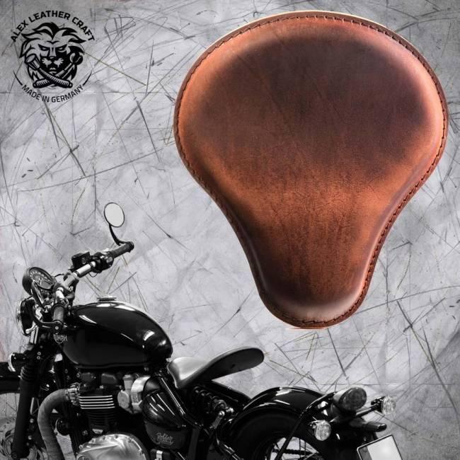 """Triumph Bonneville Bobber Seat since 2016 """"Standard"""" Vintage Brown"""