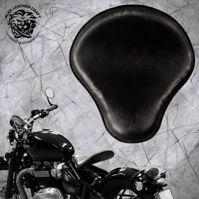 """Triumph Bonneville Bobber Seat since 2016 """"Standard"""" Vintage Black"""