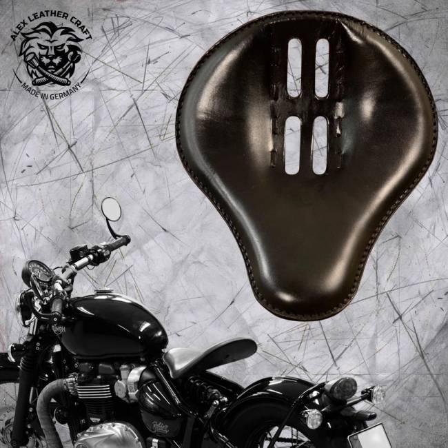"""Triumph Bonneville Bobber Selle de 2016 """"Standard"""" 4Quatrième Noir"""