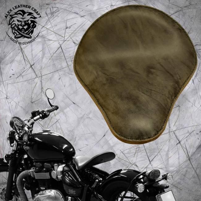 "Triumph Bonneville Bobber Seat since 2016 ""Standard"" Buffalo Gray"