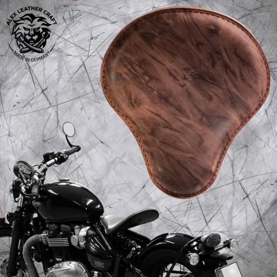 "Triumph Bonneville Bobber Seat since 2016 ""Standard"" Buffalo Mocca"