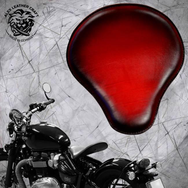 """Triumph Bonneville Bobber Seat since 2016 """"Standard"""" Red"""
