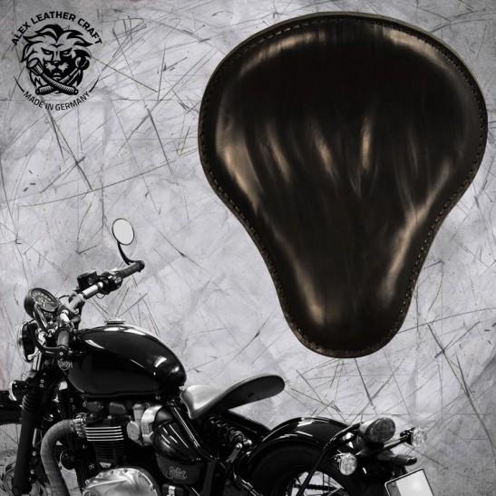 """Triumph Bonneville Bobber Selle de 2016 """"Standard"""" Ride Noir"""