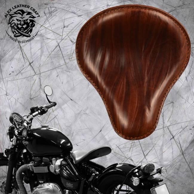 """Triumph Bonneville Bobber Selle de 2016 """"Standard"""" Ride Marron"""