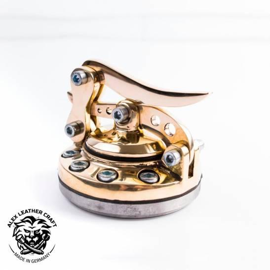 Custom brass Fuel Cap V2 for Bobber Chopper