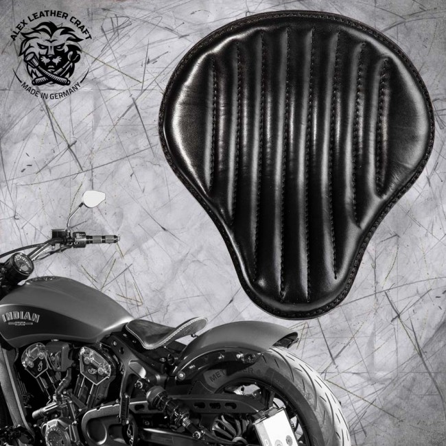 "Bobber Solo Seat for Indian Scout since 2017 ""Standard"" Black V2"