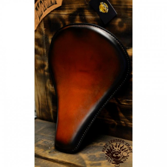 "Bobber Solo Seat ""Long"" Saddle Tan"