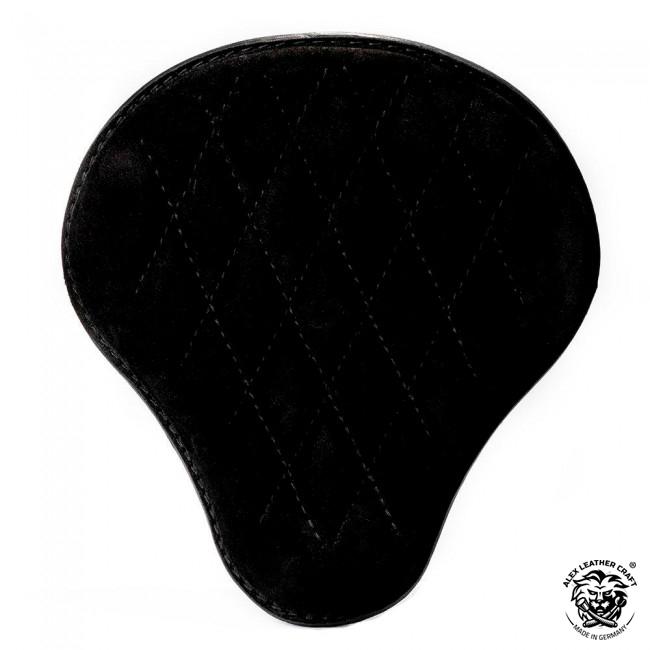"Bobber & Chopper Custom Seat ""Velvet"" Black V3"