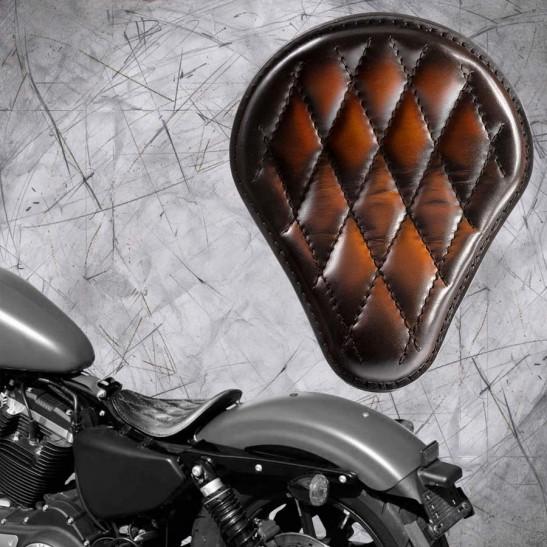 Solo Seat Harley Davidson Sportster 04-20 Saddle Tan V3