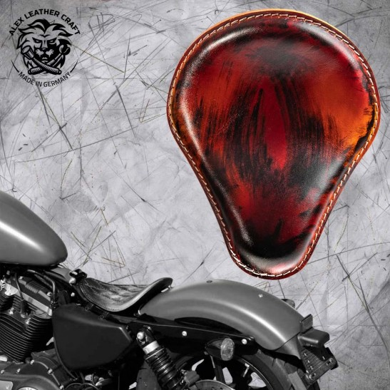 Solo Selle Harley Davidson Sportster 04-20 Crazy Boom V3