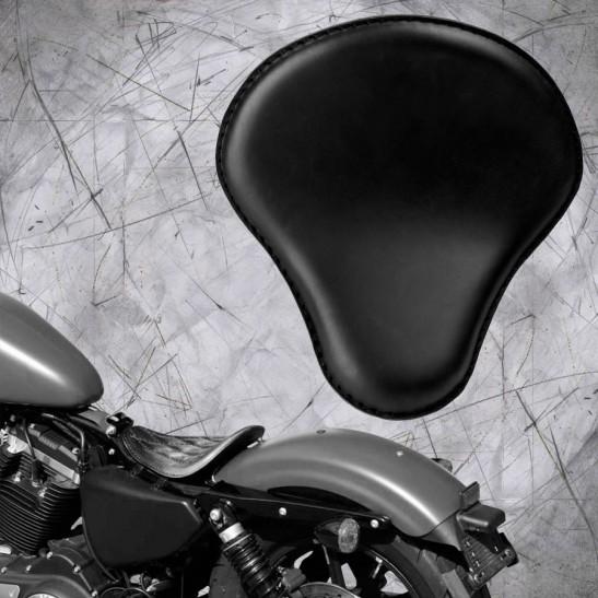 Solo Sitz Harley Davidson Sportster 04-20 Schwarz