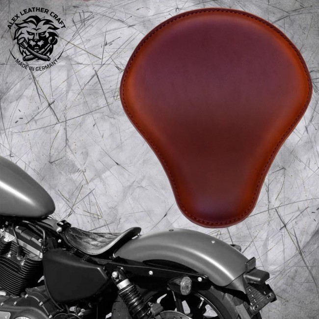Solo Seat Harley Davidson Sportster 04-20 Brown