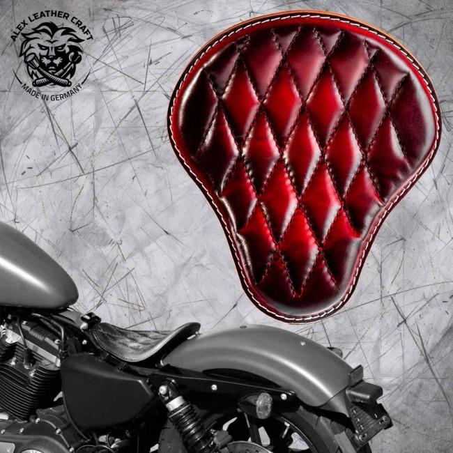 Solo Sitz Harley Davidson Sportster 04-20 Rot V3
