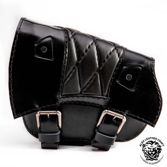 Saddlebag for Triumph Bonneville Bobber Diamond Black