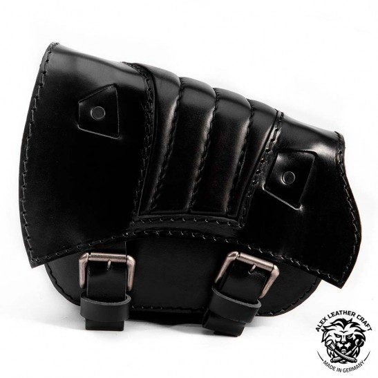 Saddlebag for Triumph Bonneville Bobber Black V2