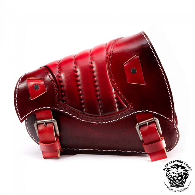 Motorcycle Saddlebag Sportster 1988-2020 Red V2