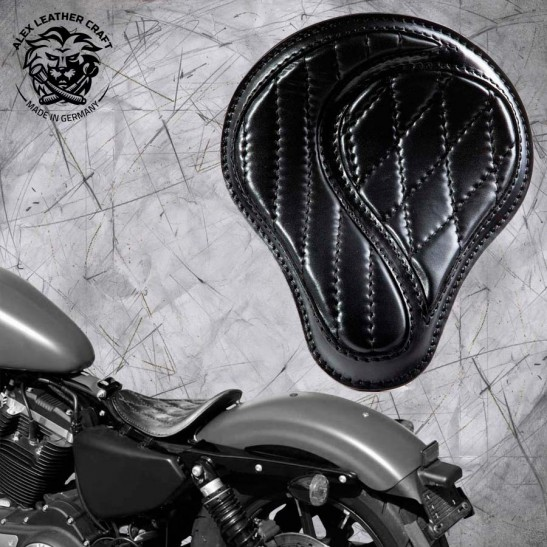 "Solo Sitz Harley Davidson Sportster 04-20 ""No-compromise"" Schwarz"