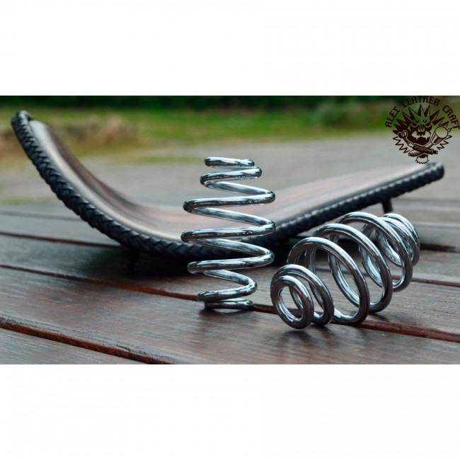 "Bobber Seat springs 3"" (76 mm) Custom Chrome"